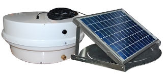 The Roof Sentinel II XDR Solar Roof Pump